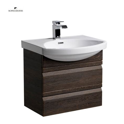 roper profile 600mm wall hung vanity unit with