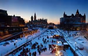 Canal Rideau Skating by Ottawa Canada A Beautiful City In All Seasons