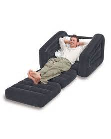 buy intex single inflatable pull out sofa cum bed with