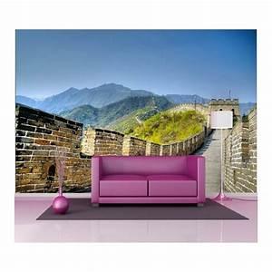 Papier Peint Geant : papier peint g ant d co muraille de chine 250x360cm art ~ Premium-room.com Idées de Décoration
