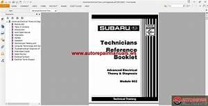 Subaru Technical Training Manual