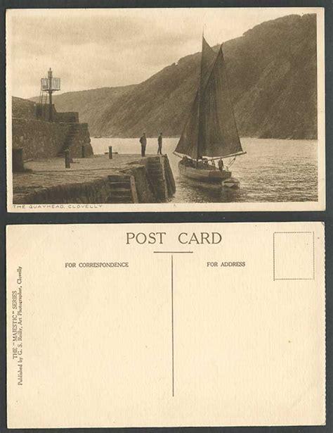 Ebay Boats For Sale Devon by Clovelly The Quayhead Quay Head Sailing Boat Boats Devon