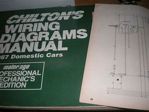 1987 Pontiac Fiero Wiring Diagrams Schematics Manual