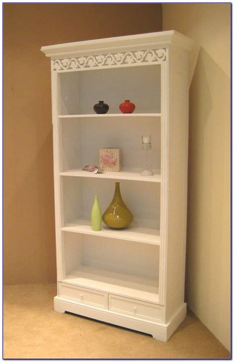narrow bookcase shabby chic bookcase home design ideas