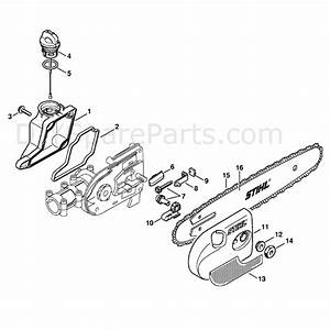Stihl Ht 131 Z Pole Pruner  Ht131z  Parts Diagram  Oil Tank