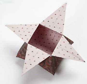 beautiful origami star box folding instructions