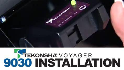 tekonsha voyager  brake controller installation youtube