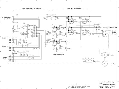 Ac Motor Schematic by Gt Automations Gt Motor Circuits Gt Dc Servomotor