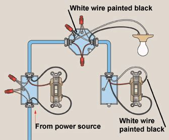 How Wire Three Way Light Switches Hometips