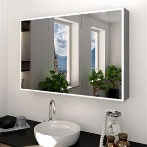 Spiegelschrank Nach Maß : alu spiegelschrank nach ma mit led beleuchtung metal credo 989709348 ~ Orissabook.com Haus und Dekorationen