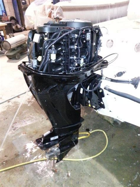 Flushing Boat Engine After Salt Water by Outboard Motor Flushing Douglas Marine