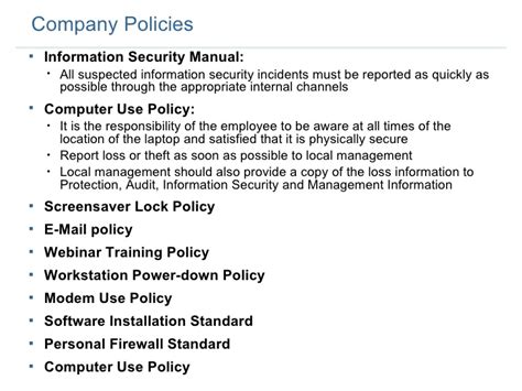employee computer use policy template costumepartyrun