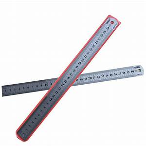 6 3 En Cm : 30cm 12inch steel ruler thickening metric and inch ~ Dailycaller-alerts.com Idées de Décoration