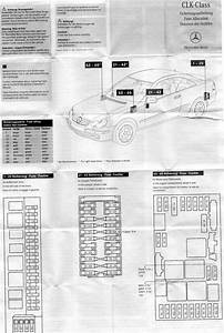 2004 Mercede S430 Fuse Diagram