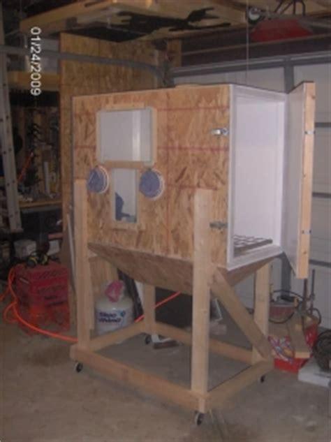 homemade blasting cabinet homemadetoolsnet