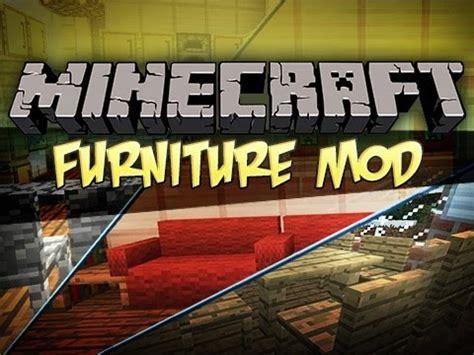 minecraft furniture mod youtube