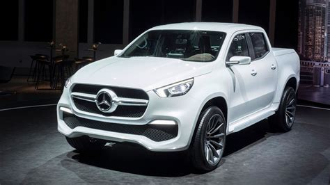 mercedes pickup 2017 mercedes pickup truck ready to roll but not in u s fox