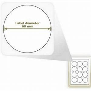 a4 matt white circular self adhesive labels 12 labels per With circular self adhesive labels