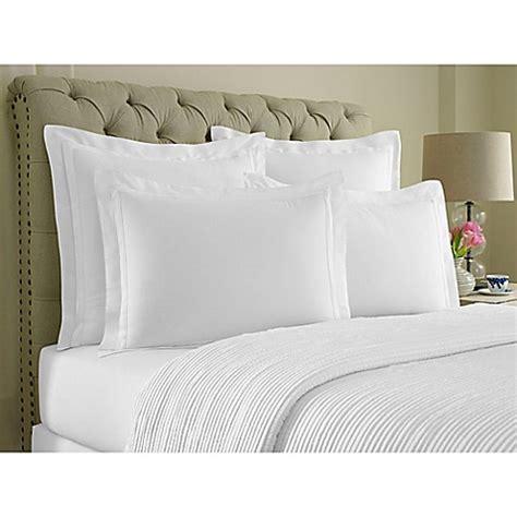 wamsutta double flange pillow sham bed bath