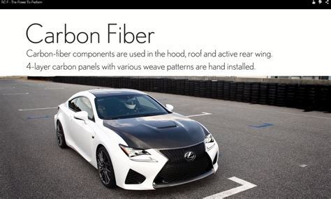 Lexus Rc F With Carbon Package