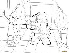 LEGO DC Coloring Pages