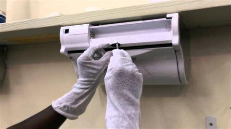 innovia paper towel dispenser youtube