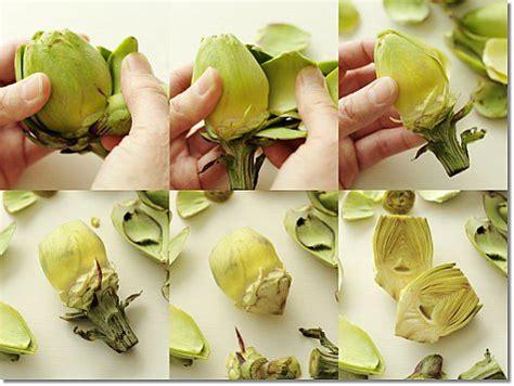 how to cook an artichoke how to prep baby artichokes jill silverman hough