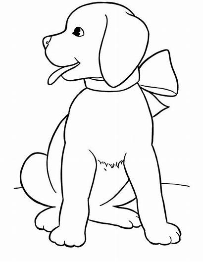 Coloring Dog Pages Realistic Printable