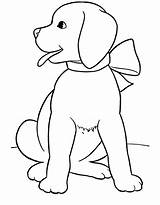 Coloring Dog Pages Realistic Printable sketch template
