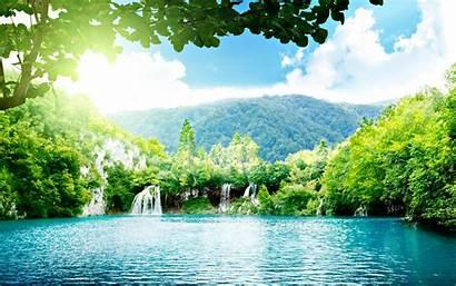 Peaceful Place Dream Summer Wallpapers Desktop Landscape