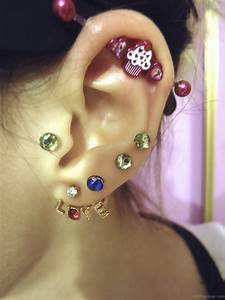 Cute Ear Piercing