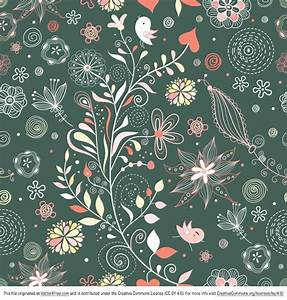 Free Vintage Floral Pattern Vector