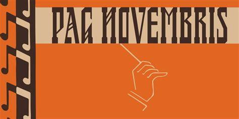 PAG Novembris Font | Webfont & Desktop | MyFonts