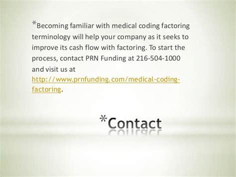 coding factoring terminology medical