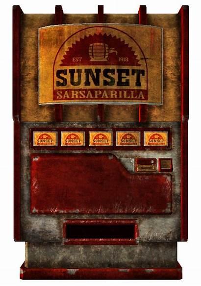 Machine Fallout Sunset Sarsaparilla Vending Vegas Wikia