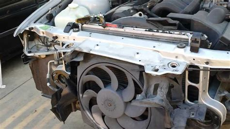 e46 m3 aux fan bmw e36 m3 radiator upper support auxiliary fan removal