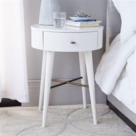 small white nightstand penelope nightstand white west elm