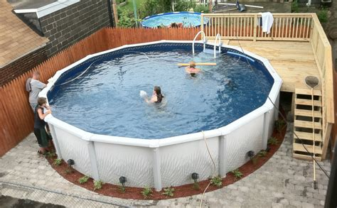 Built Right Pool Packages Installed, Above Ground Or