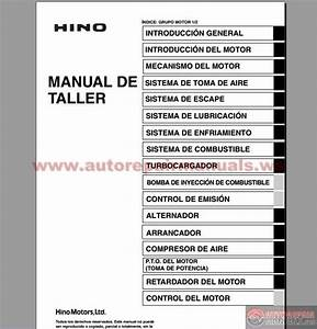 Hino Series 700 Workshop Manual