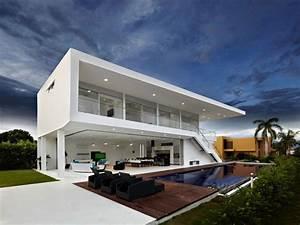 Modern, Minimalist, House, Design, Modern, Tropical, House