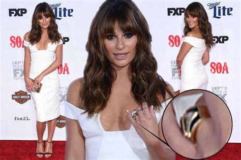 Lea Michele Wedding Ring