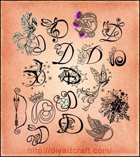 Tattoo Letter D  Wwwimgkidcom  The Image Kid Has It