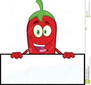 Chili Pepper Cartoon Character
