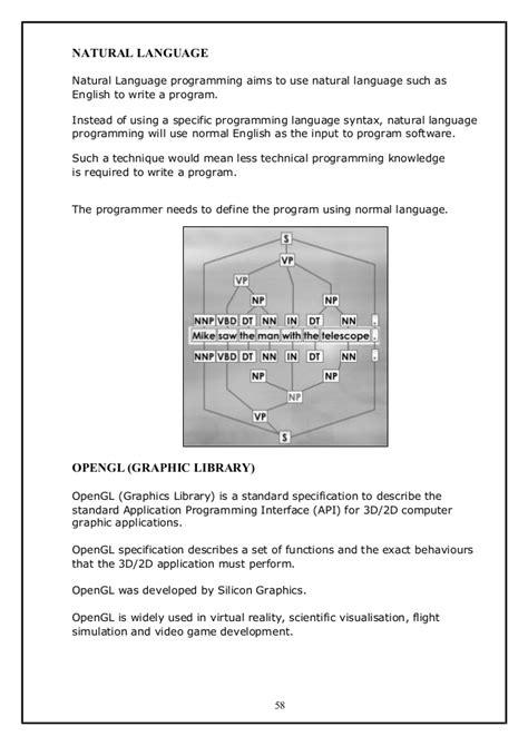 Nota program development