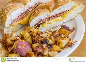 Taylor Ham Egg Cheese Stock Photo - Image: 52712079