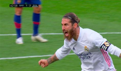 Gol de Sergio Ramos Barcelona vs Real Madrid EN VIVO ...
