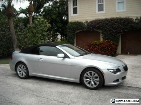 2008 Bmw 6 Series by 2008 Bmw 6 Series Convertible For Sale In United States
