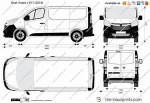 Dimension Opel Vivaro : opel vivaro l1h1 vector drawing ~ Gottalentnigeria.com Avis de Voitures