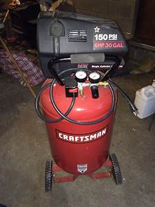 Craftsman 6hp 150 Psi 30gal Air Compressor For Sale In