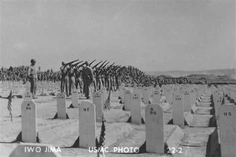 Location Former American War Cemetery Iwo Jima